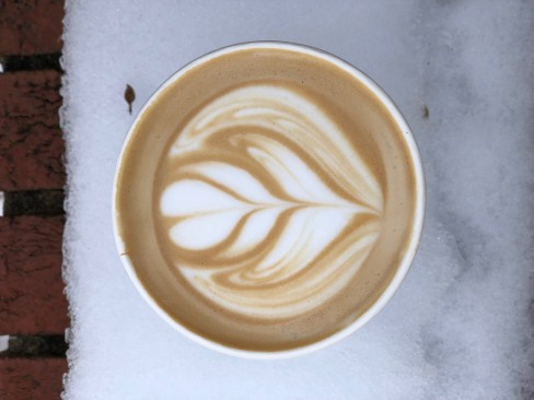 Vanilla Latte from B&W